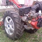 Утяжеление  мотоблока и минитрактора (жидкость в колёса)