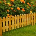 Заборчики и ограждения для цветочных клумб