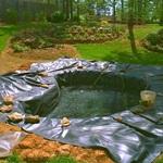 Гидроизоляционная плёнка для  бассейнов и прудов