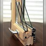 Современные деревянные окна со стеклопакетами