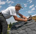 Сланцевое  и покрытие крыши