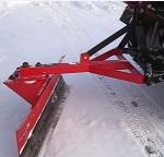 Задний навесной выравниватель для мини тракторов