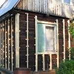 Недорогой деревянный дом