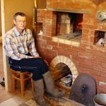 Экономичная, кирпичная печь в доме
