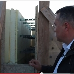 Строительство дома с несъёмной опалубкой из фибролитовых  плит