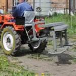 Новая  роторная косилка для мини трактора  производителя  ООО  «Трактор»