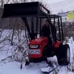 Лыжи для мини трактора