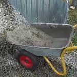 Как помыть тачку и бетономешалку?