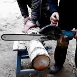 Как сделать цепную пилу из болгарки