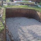 Подготовка котлована под бассейн
