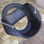 Старые шины пригодятся