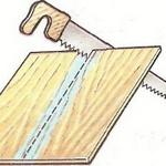 Как распилить фанеру без сколов
