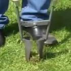 Лопата для посадки рассады цветов  и луковиц