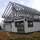 Строительство дома из ЛСТК