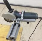 Изготавливаем самодельный обрезной станок  с угловой машинки (болгарки)