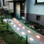 Освещения участка загородного дома