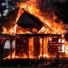 Пожар произошел на острове Русский во Владивостоке, пострадали строители
