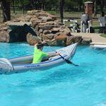Длинный заплыв в крохотном бассейне