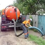 Экономный септик канализации в загородном или деревенском доме