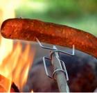 Оригинальный шампур для мяса и сосисок